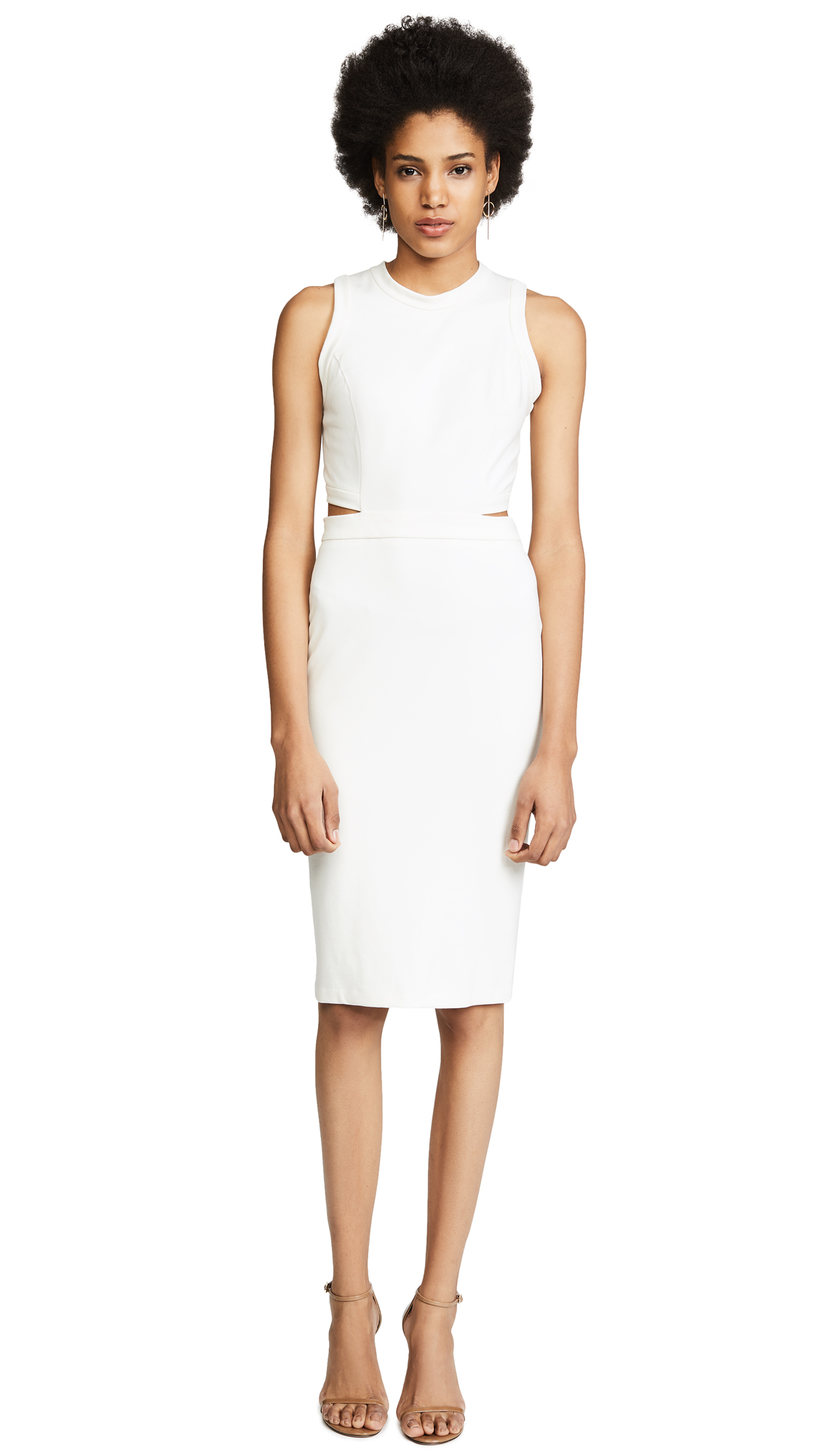 Amanda Uprichard Shaina Dress In Ivory