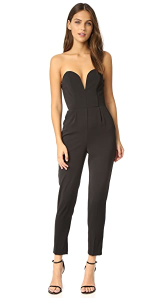 Amanda Uprichard Cherri Jumpsuit - Black
