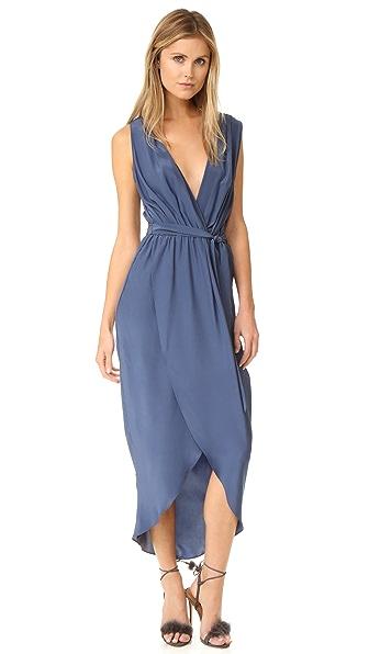 Amanda Uprichard Sleeveless Porter Maxi Dress