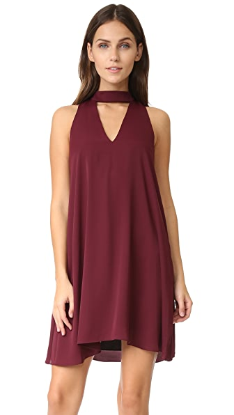 Amanda Uprichard Garland Dress - Wine