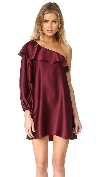 Amanda Uprichard Luella Dress - Wine