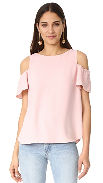 Amanda Uprichard Dryden Top - Dusty Rose