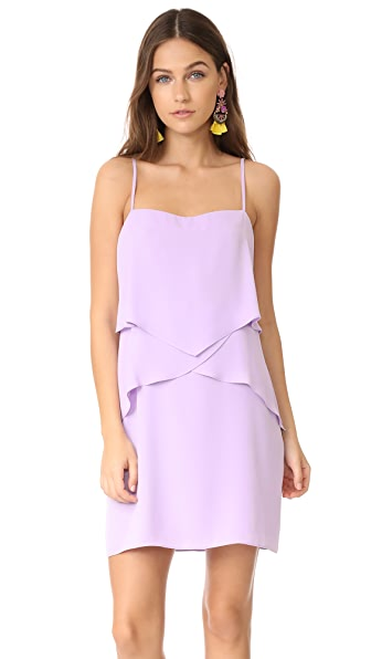 Amanda Uprichard Sienna Dress In Lavender