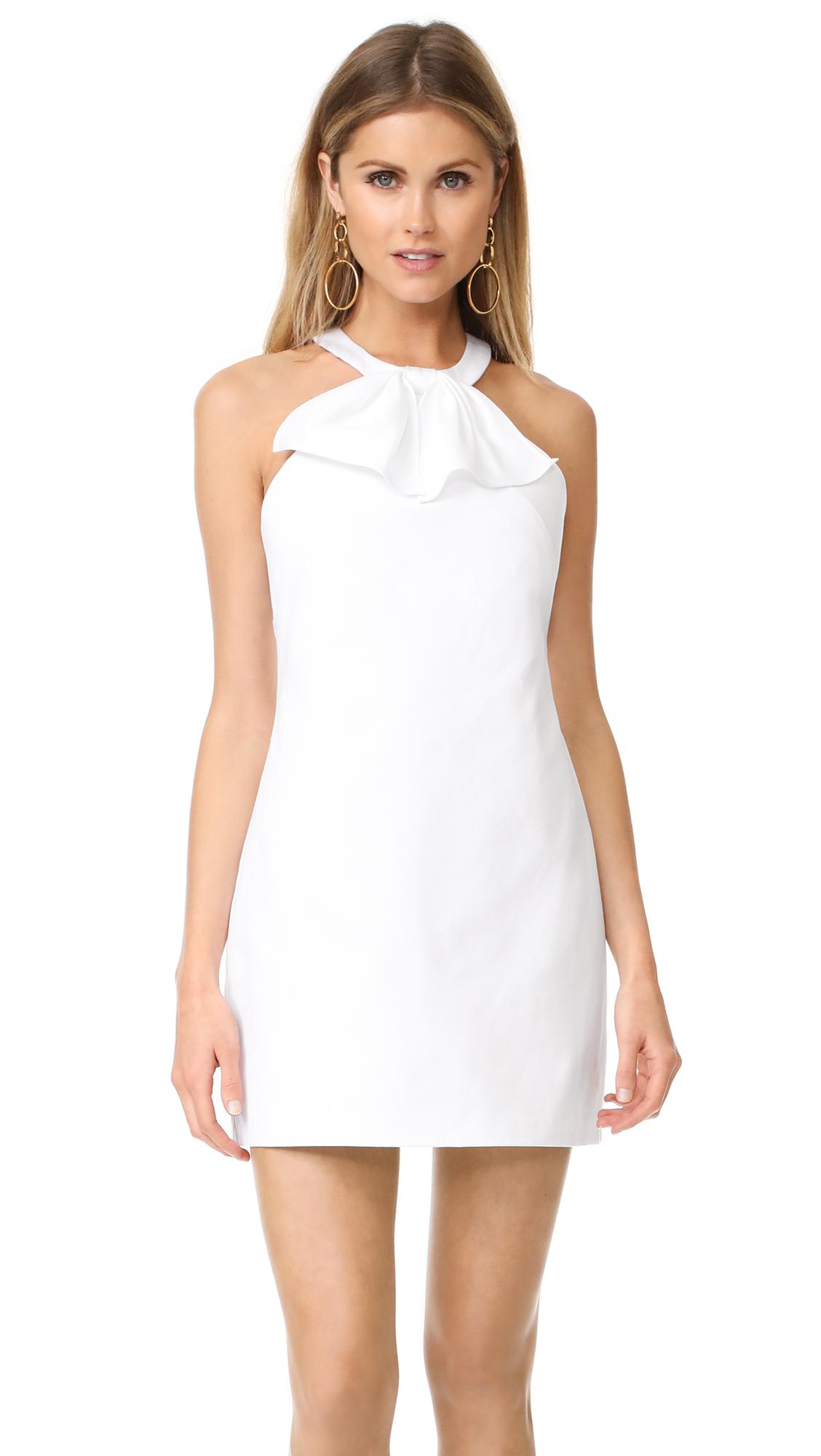 Amanda Uprichard Kitsy Dress - White Pique