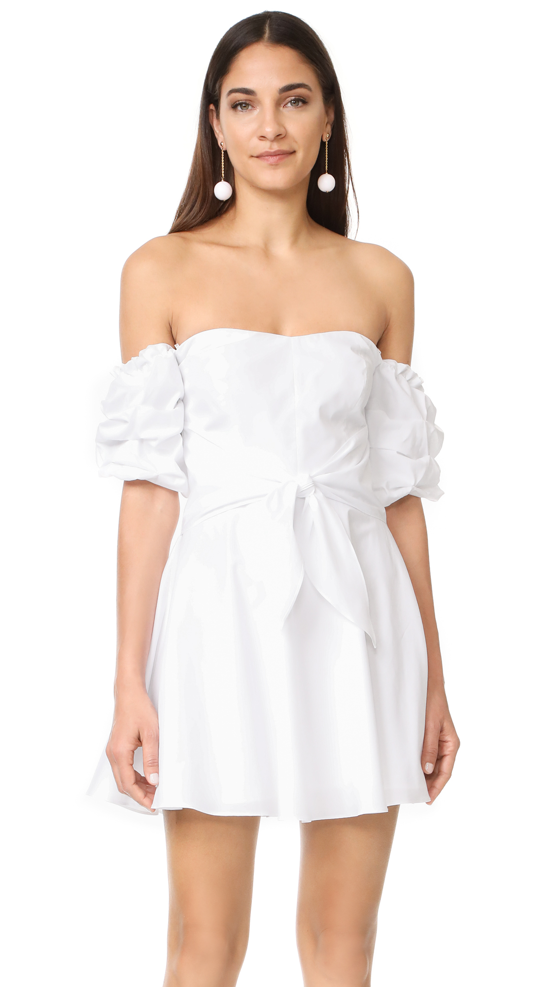 Amanda Uprichard Austin Dress - White