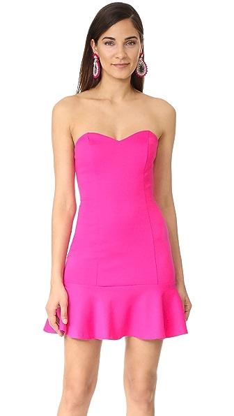 Amanda Uprichard Rocky Dress - Hot Pink