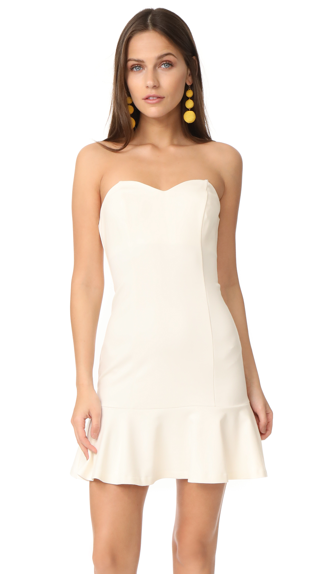 Amanda Uprichard Rocky Dress - Ivory