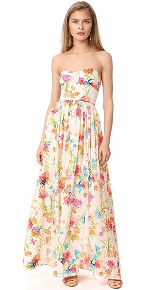 Amanda Uprichard Gisele Maxi Dress