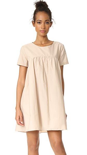 Amanda Uprichard Alessandria Dress - Sandalwood