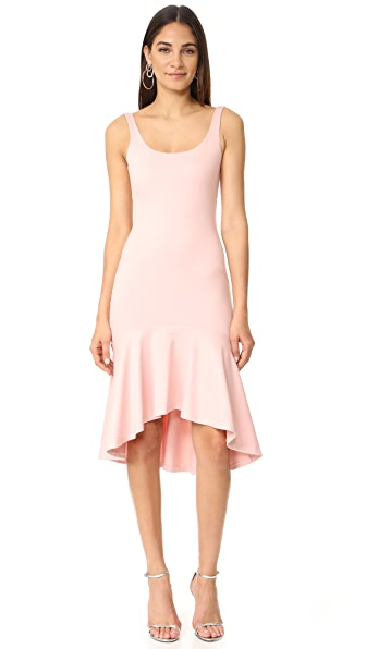 Amanda Uprichard Parker Dress - Dusty Rose