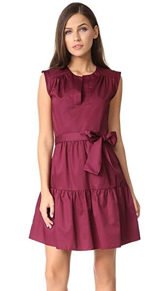 Amanda Uprichard Grenache Dress - Merlot
