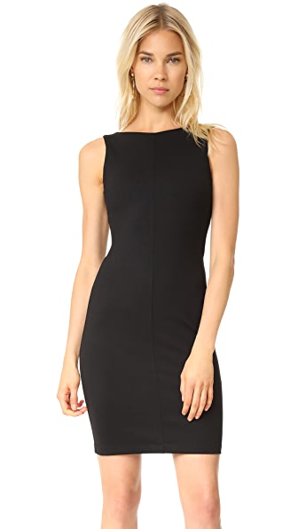 Amanda Uprichard Gigi Sleeveless Dress - Black