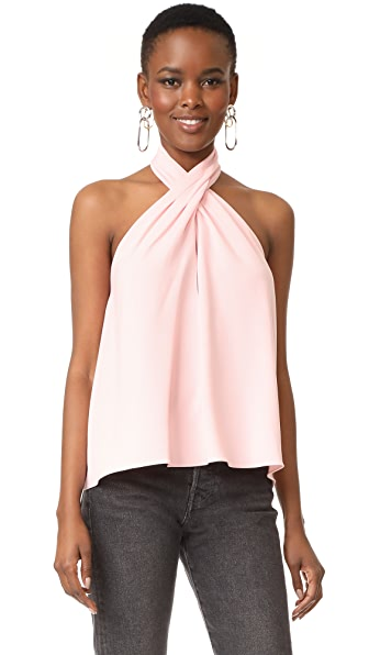 Amanda Uprichard Beckett Top - Dusty Rose