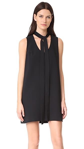 Amanda Uprichard Olive Dress - Black