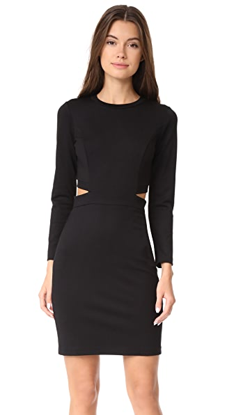 Amanda Uprichard Minka Dress In Black