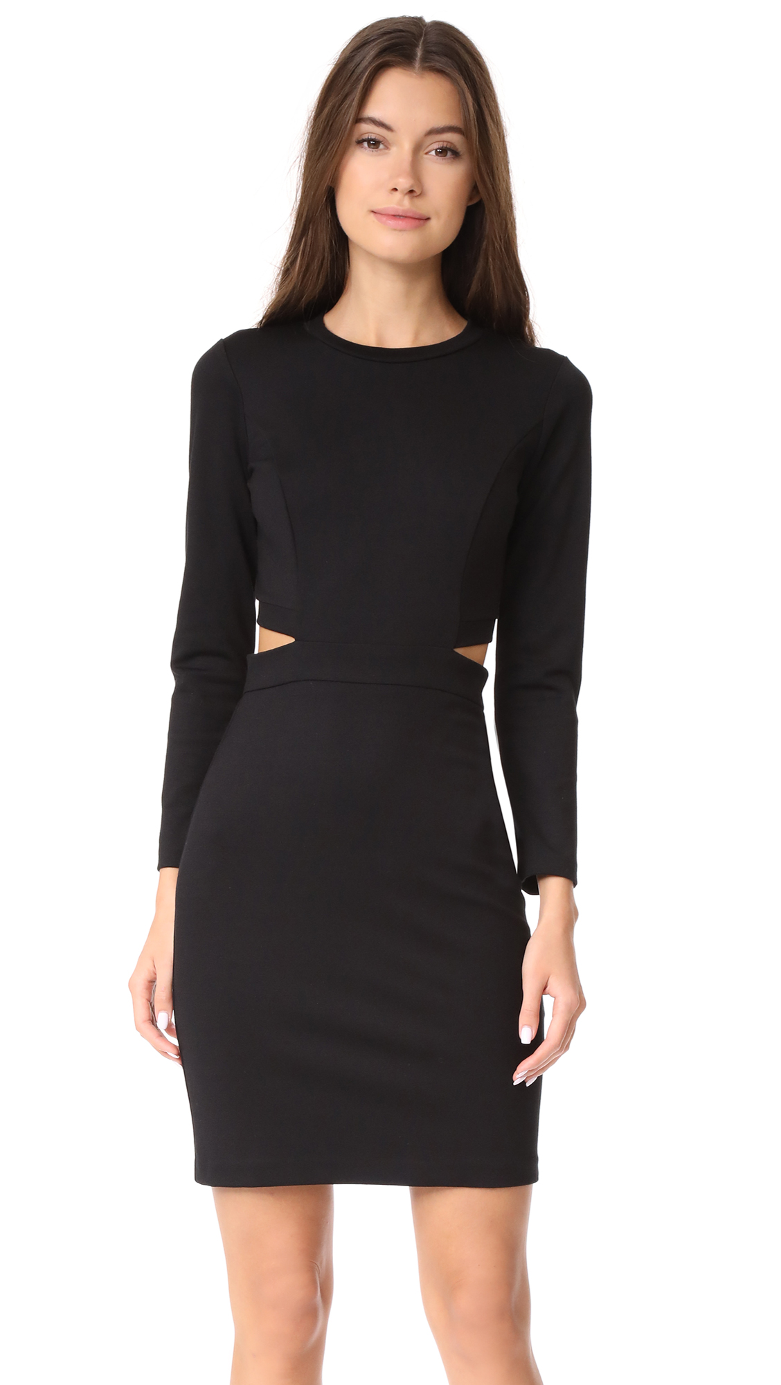 Amanda Uprichard Minka Dress - Black