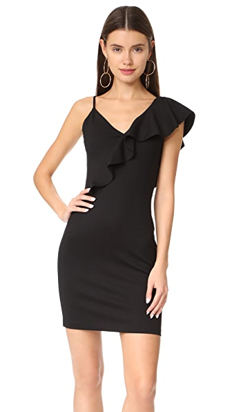 Amanda Uprichard Danica Dress - Black