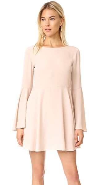 Amanda Uprichard Selma Dress In Bone