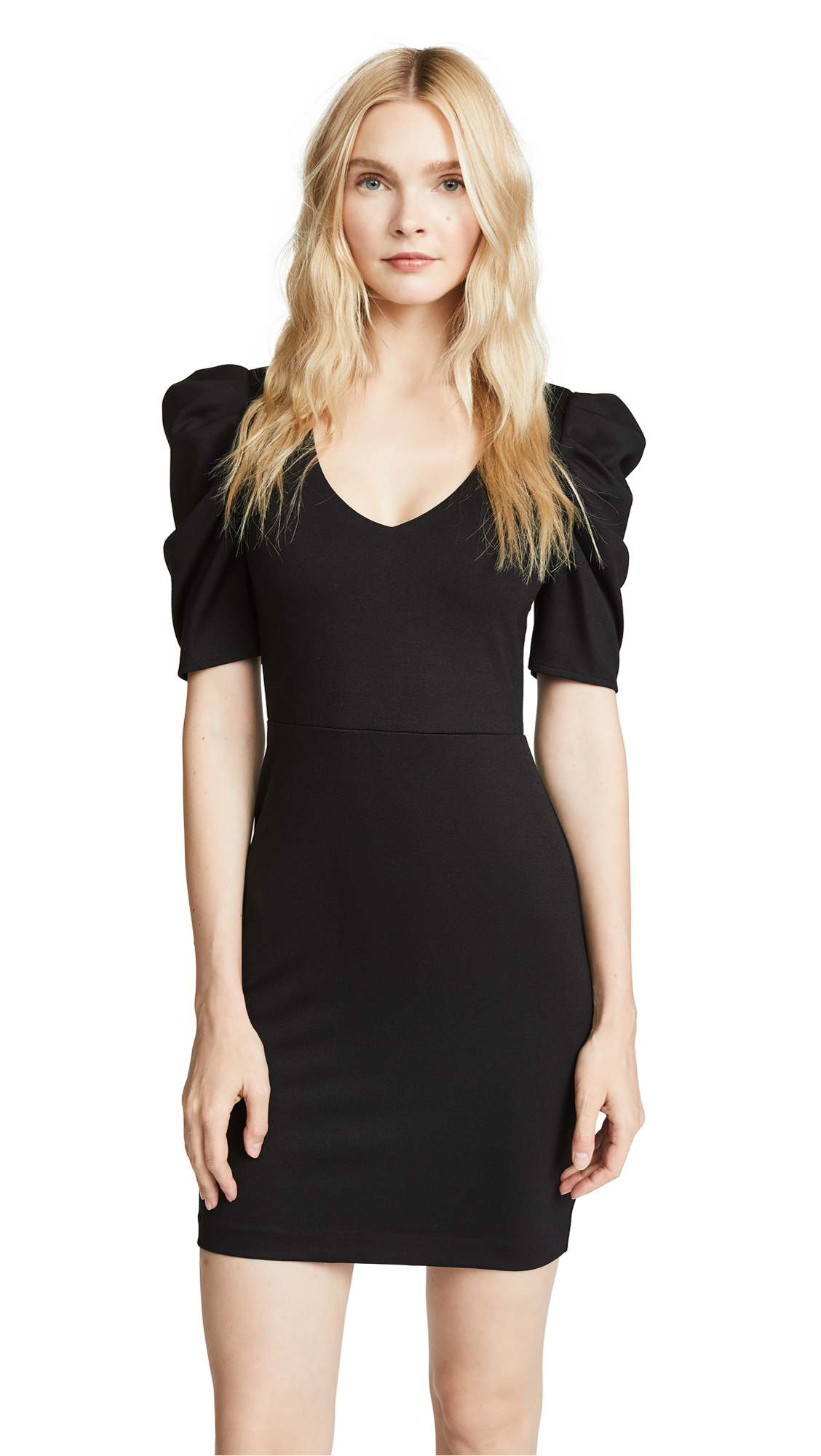 Amanda Uprichard Keene Dress In Black