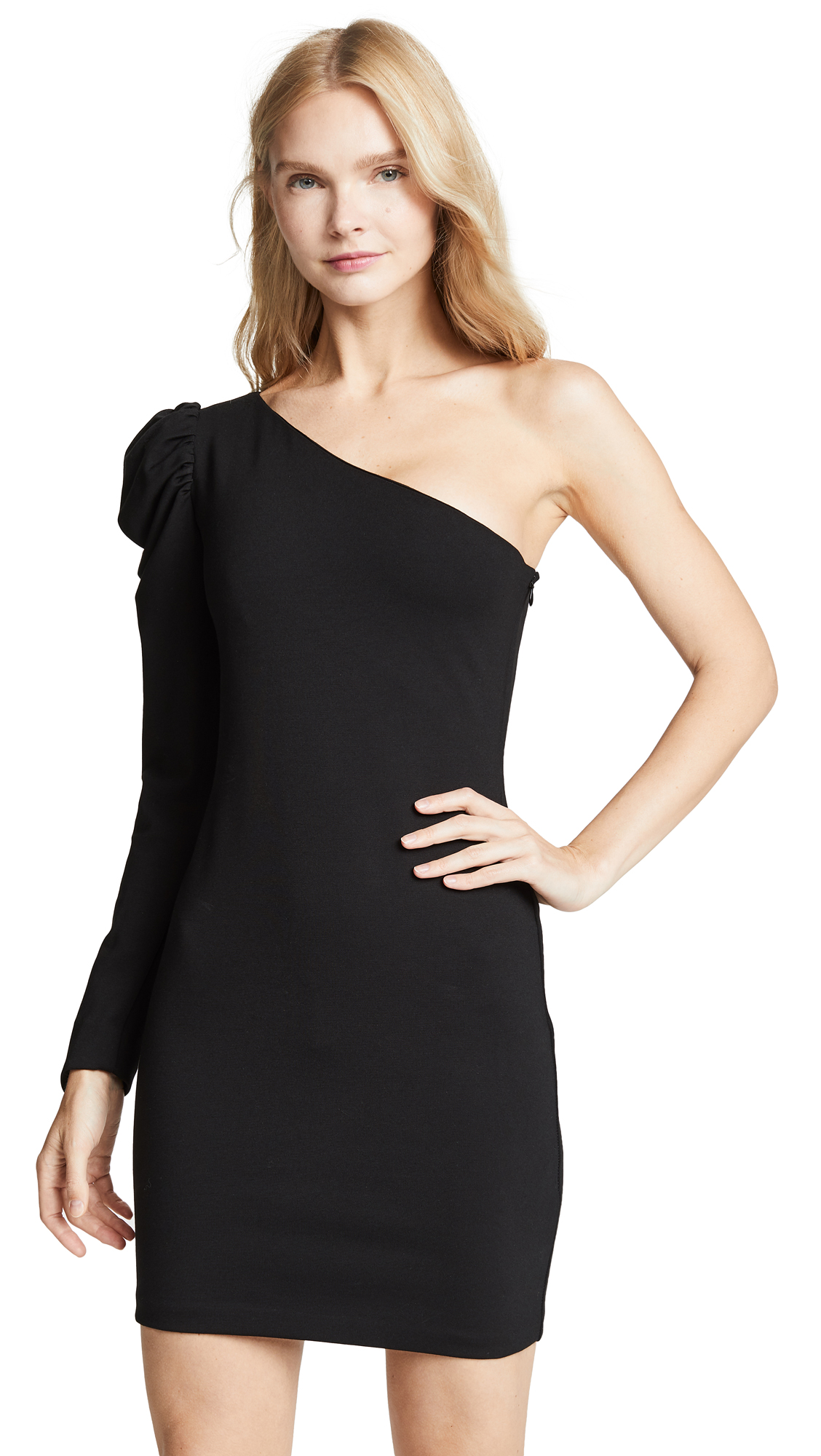 Amanda Uprichard Society Dress In Black