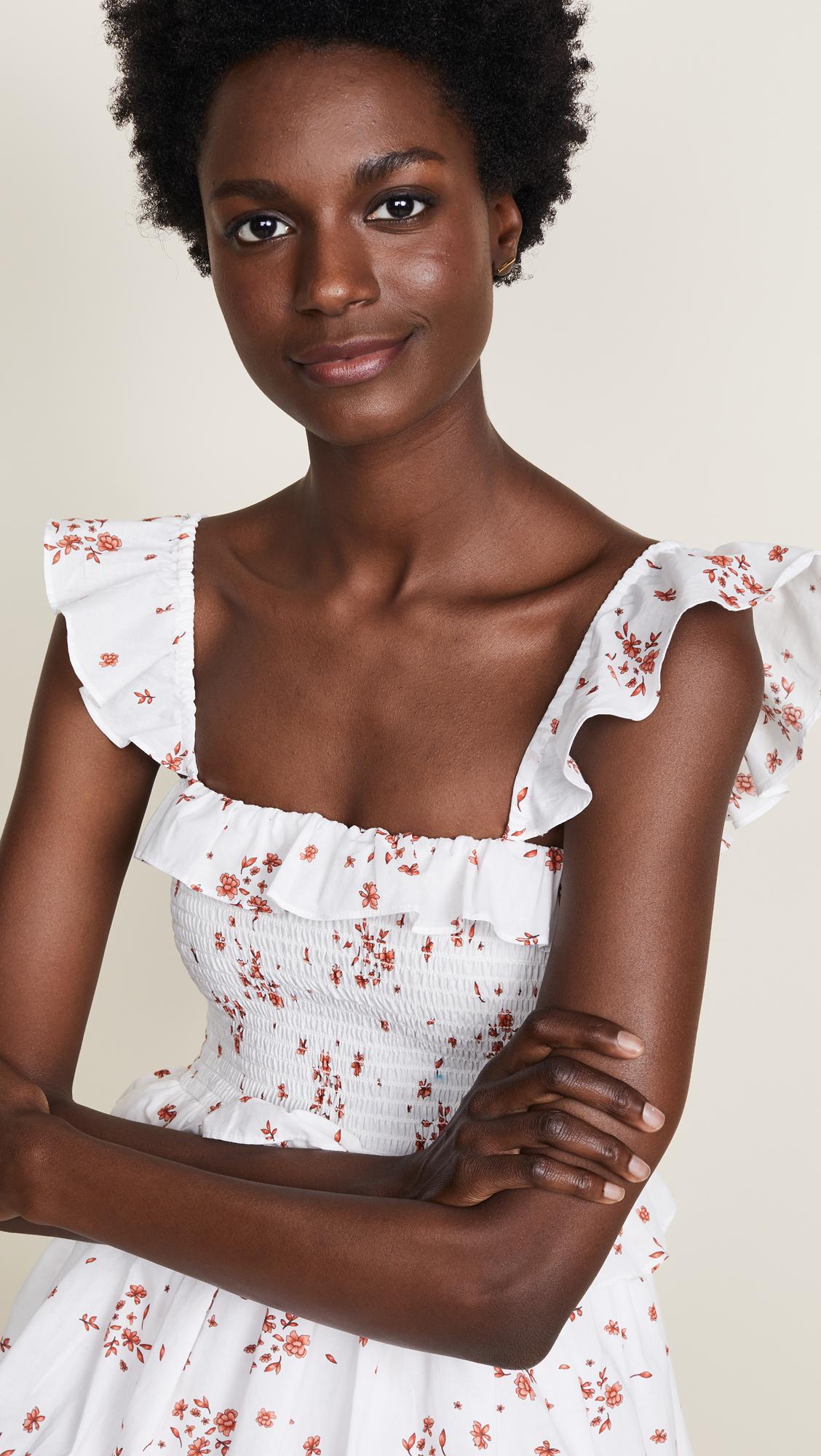 622b4c062805 Amanda Uprichard Smocked Dress | SHOPBOP