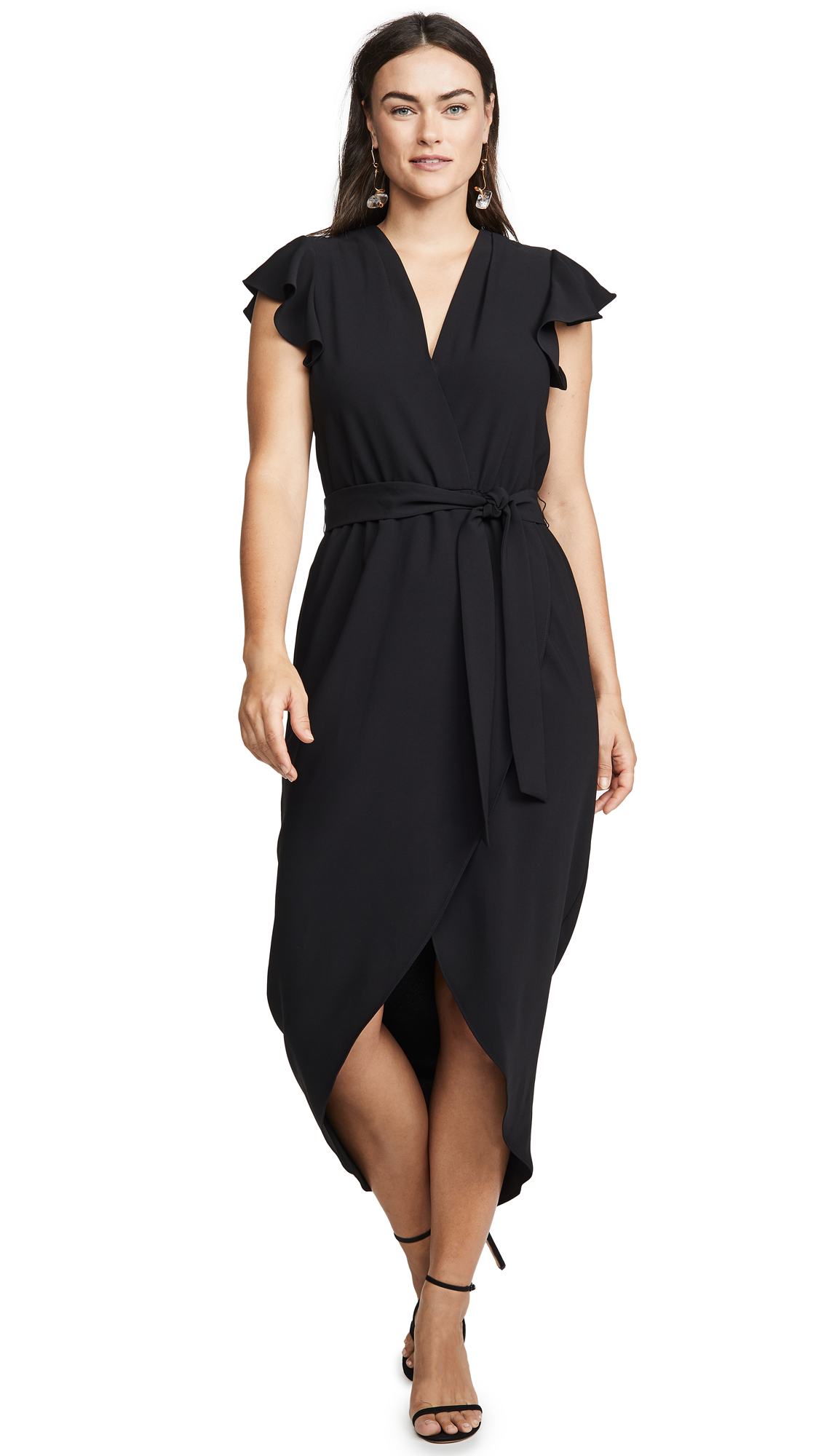 Amanda Uprichard Martinique Dress In Black