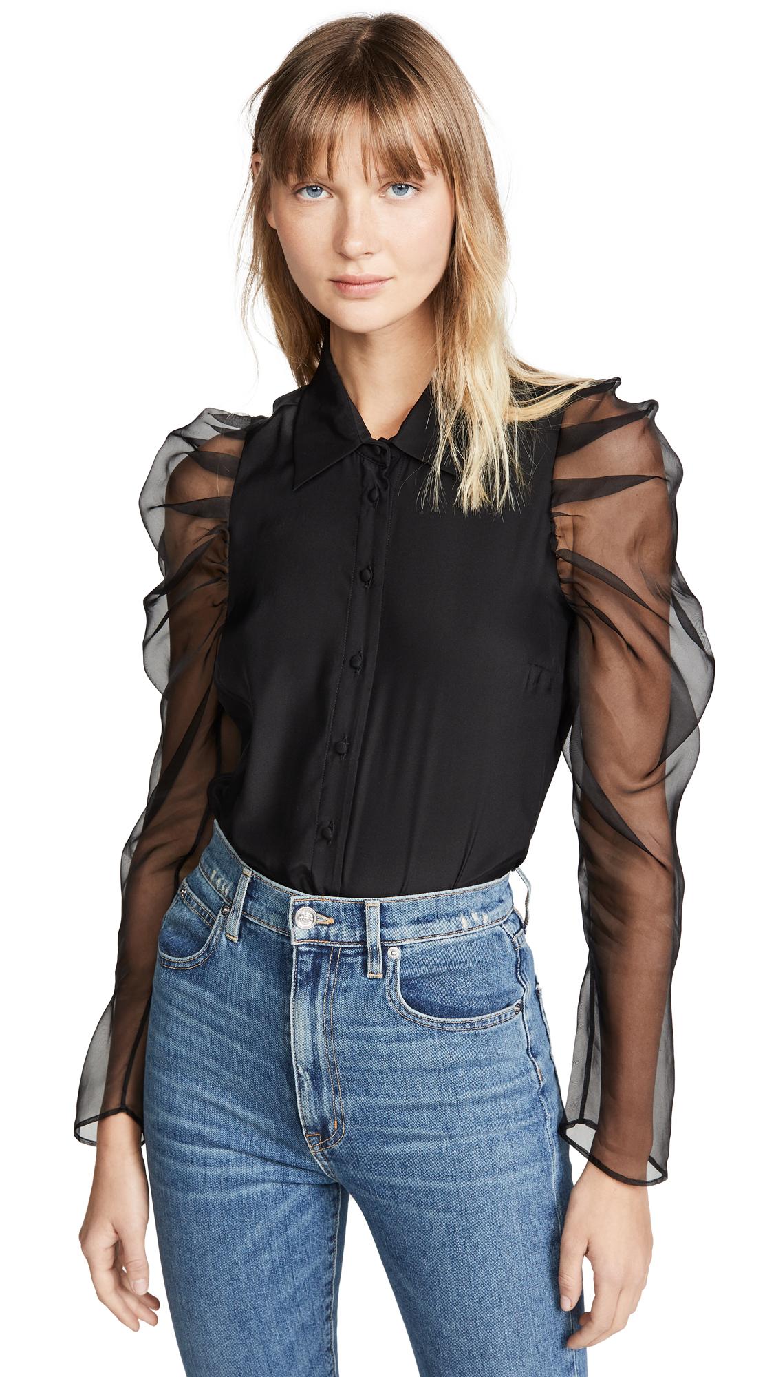 Buy Amanda Uprichard online - photo of Amanda Uprichard Jaslene Top