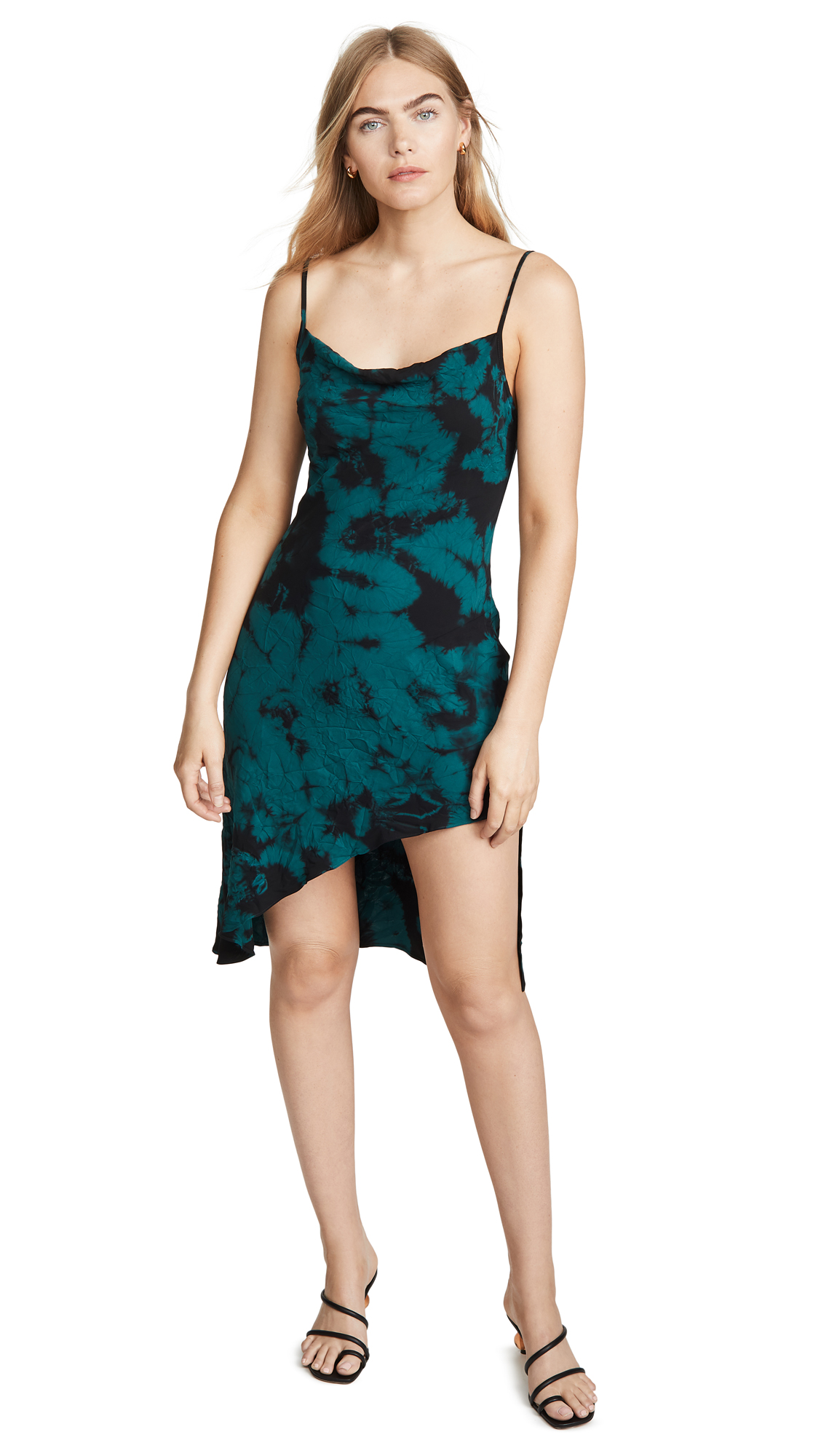 Buy Amanda Uprichard online - photo of Amanda Uprichard Tie Dye Ansonia Dress