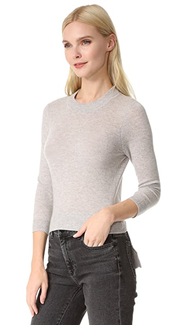 Autumn Cashmere Open Back Cashmere Sweater