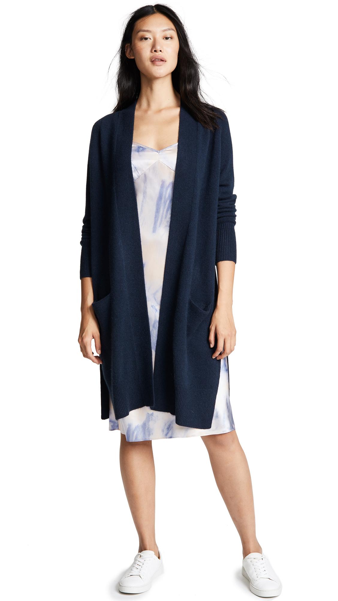 Buy Autumn Cashmere online - photo of Autumn Cashmere Maxi Open Cashmere Cardigan