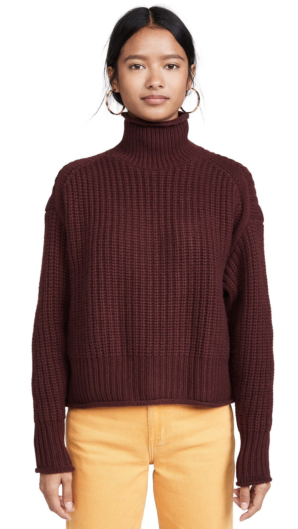 Buy Autumn Cashmere online - photo of Autumn Cashmere Chunky Shaker Cashmere Sweater