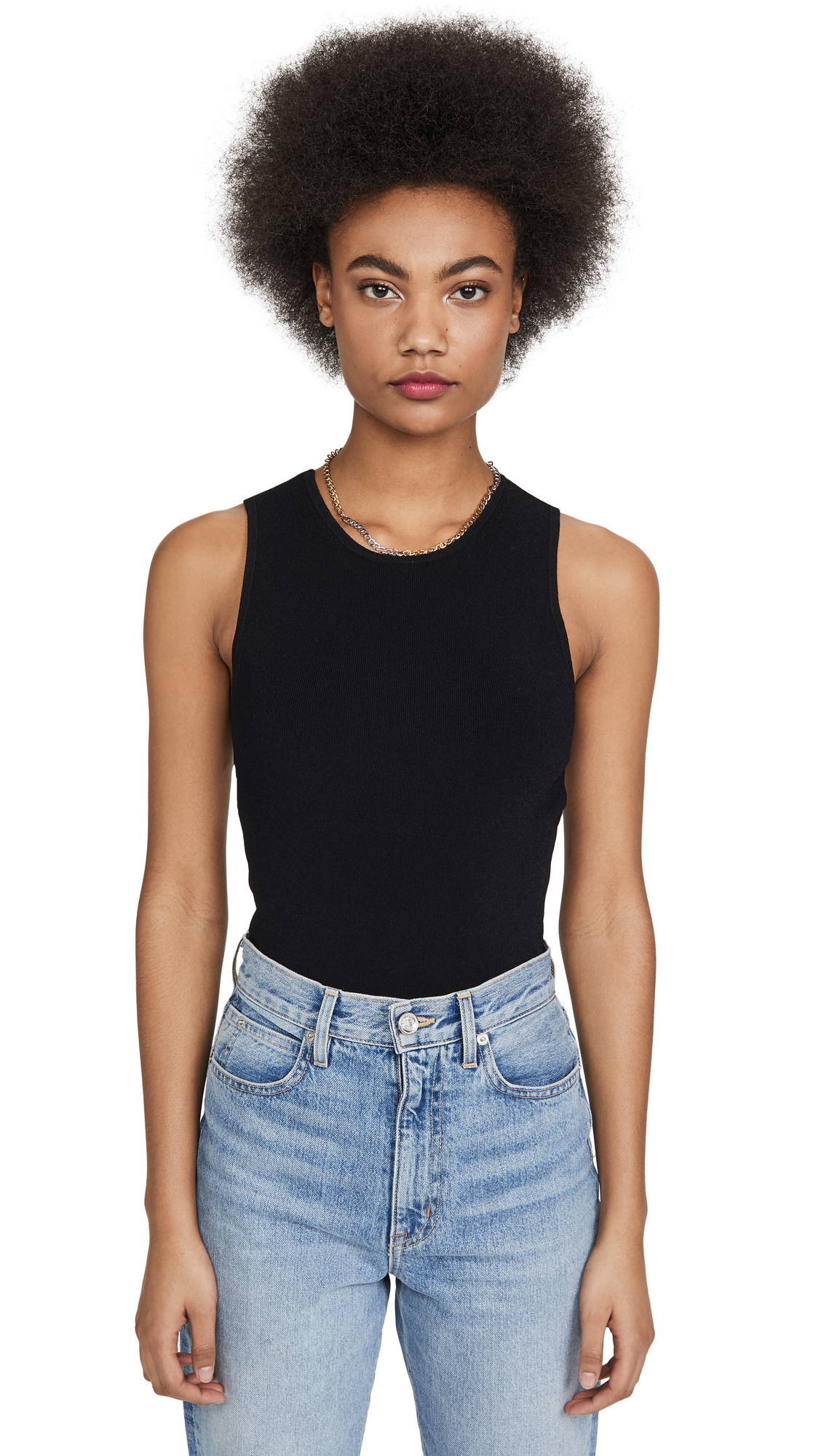 Buy Autumn Cashmere online - photo of Autumn Cashmere Open Back Muscle Tee