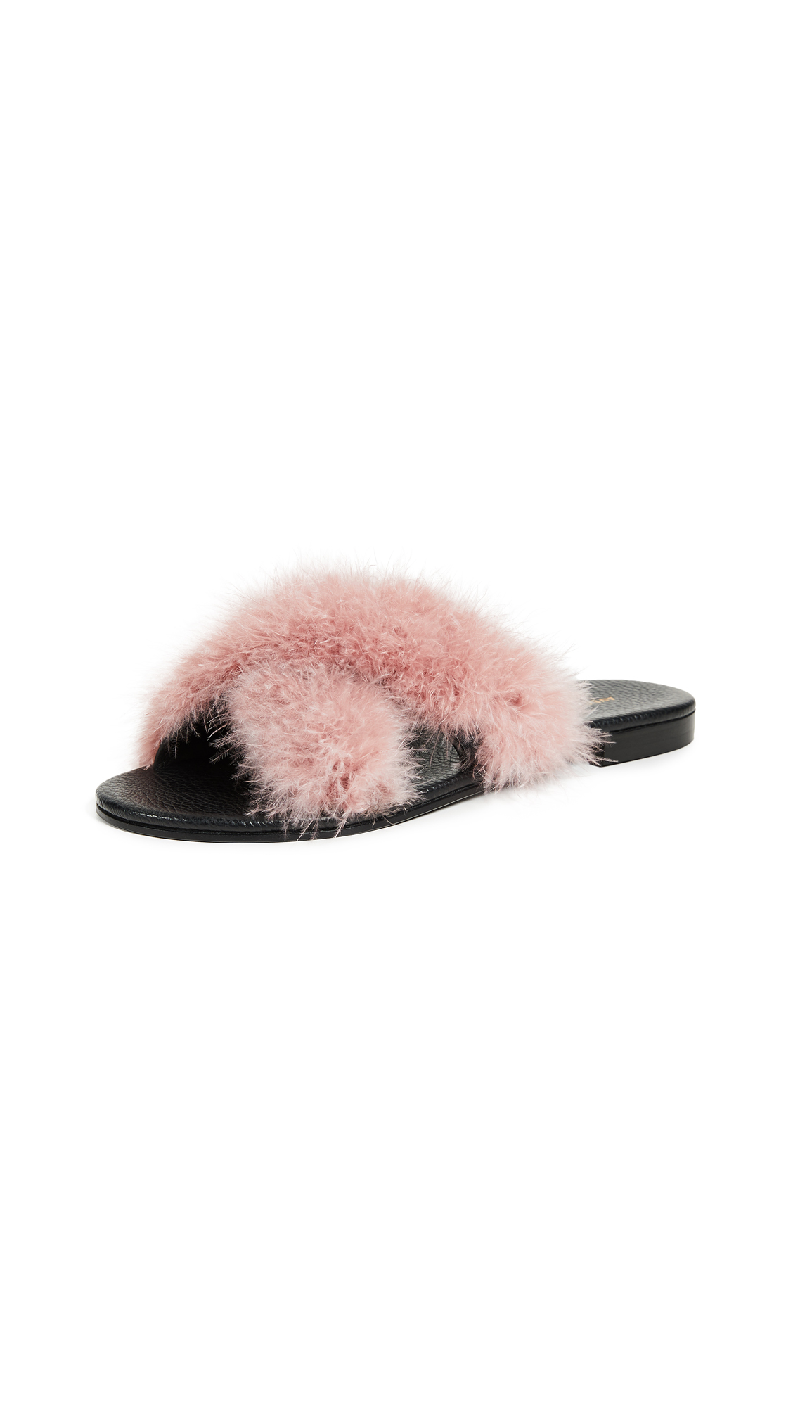 Avec Moderation St. Tropez Slide Sandals - Antique Rose