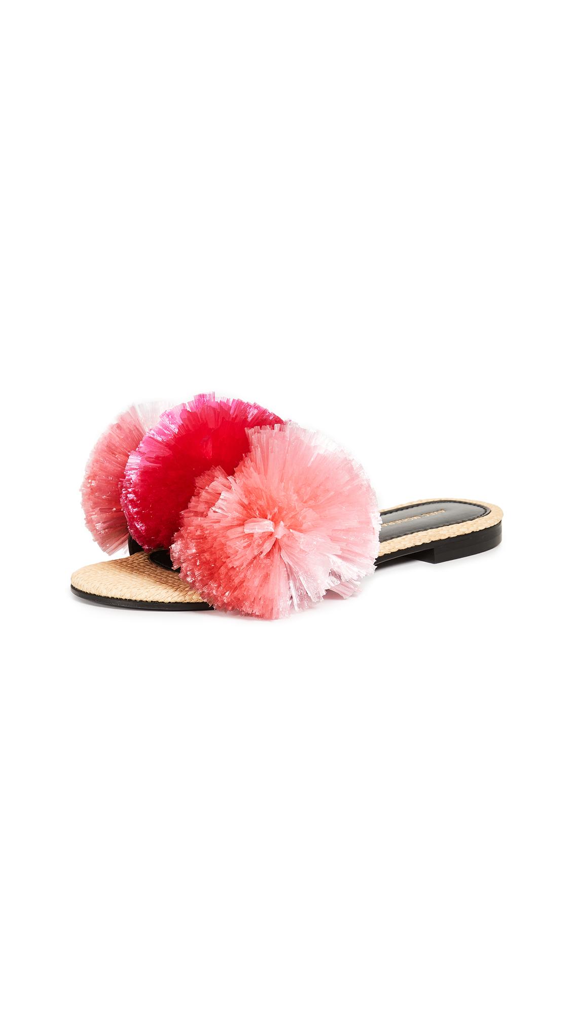 Avec Moderation Bora Bora Slides - Pink Tonic