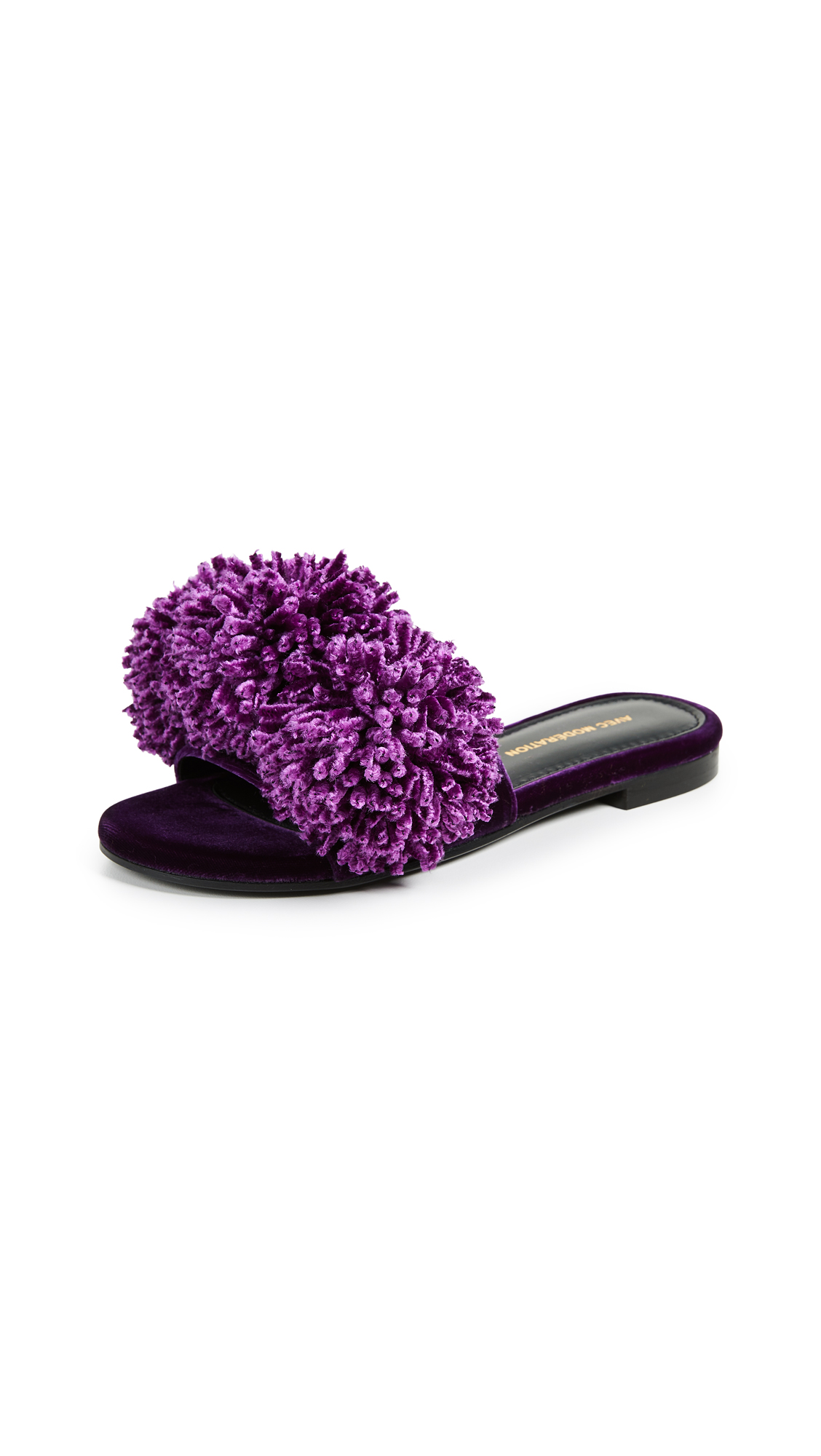 Avec Moderation Kitzbuhel Peony Slides - Purple