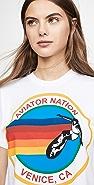 Aviator Nation 标志性男友风格 T 恤