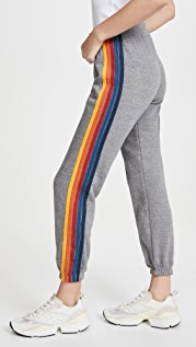 Aviator Nation 5 Stripe Sweat Pants