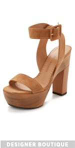 Red Cape Sandals                Alexa Wagner