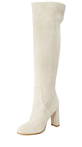 Alexa Wagner Theresa Suede Boots - Peonia at Shopbop