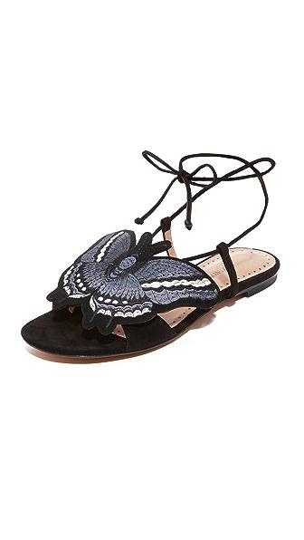 Alexa Wagner Butterfly Flats - Black