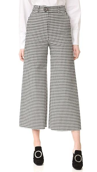 A.W.A.K.E. Checkered Culottes