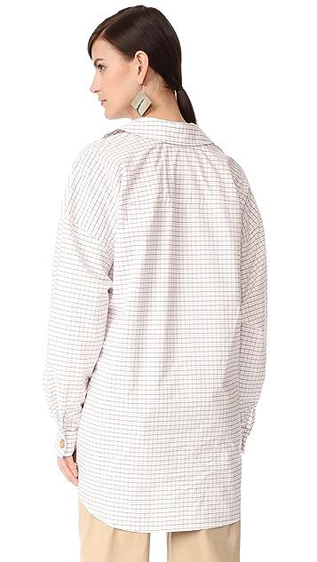 A.W.A.K.E. Japanese Wrap Shirt