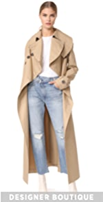 Long Trench Coat A.W.A.K.E.
