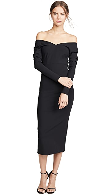 A.W.A.K.E MODE Non Monroe Midi Dress
