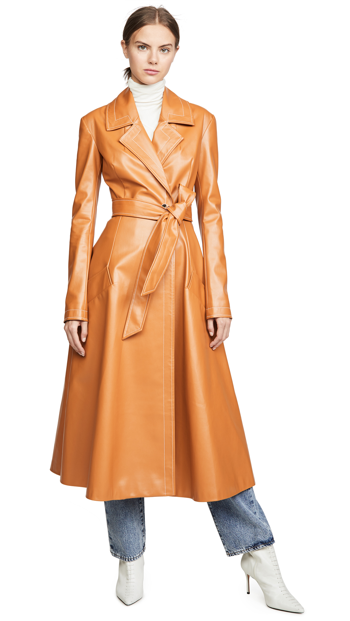 Buy A.W.A.K.E MODE Gingerbread Coat online beautiful A.W.A.K.E MODE Jackets, Coats, Trench Coats