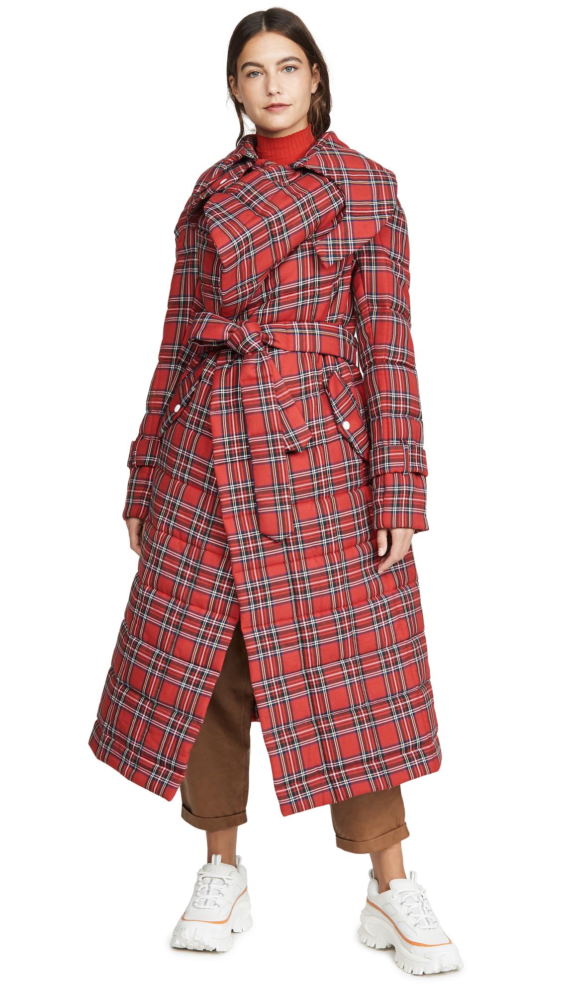 Buy A.W.A.K.E MODE Highlander Warm Secret Coat online beautiful A.W.A.K.E MODE Jackets, Coats, Trench Coats