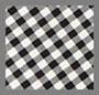 黑色/白色格纹