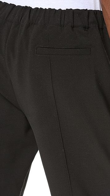 Alexander Wang Cropped Pintuck Trousers