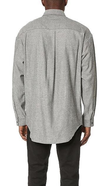 Alexander Wang Cash Embroidered Shirt
