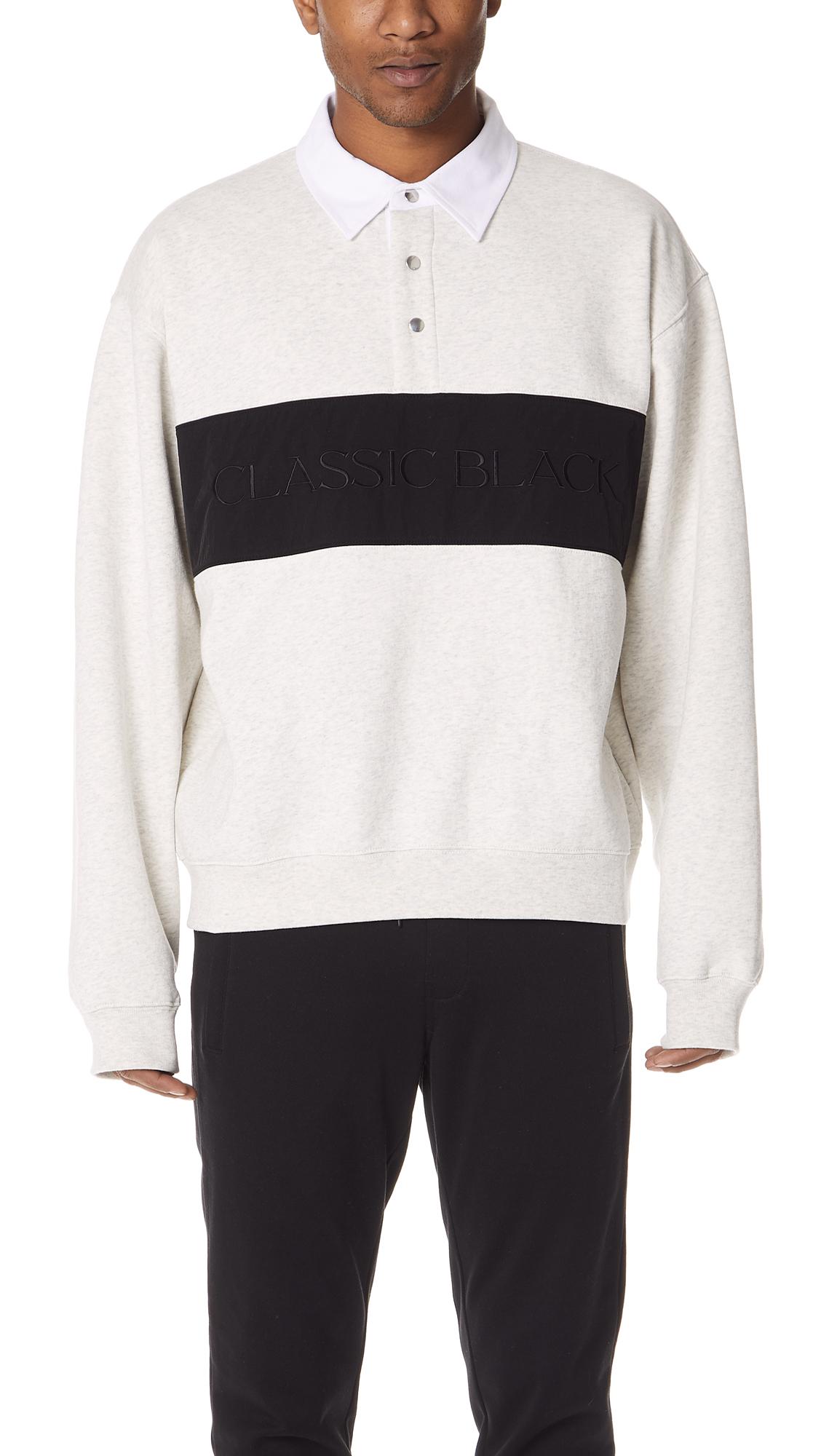 Alexander Wang  Long Sleeve Polo Shirt